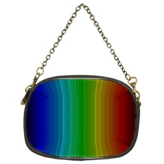 Spectrum Colours Colors Rainbow Chain Purses (two Sides)
