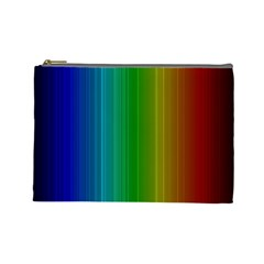 Spectrum Colours Colors Rainbow Cosmetic Bag (large)