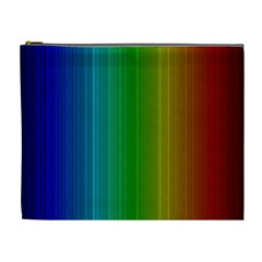 Spectrum Colours Colors Rainbow Cosmetic Bag (XL)