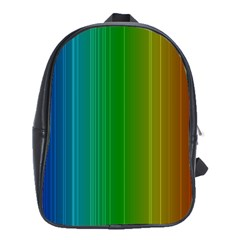 Spectrum Colours Colors Rainbow School Bags(large)