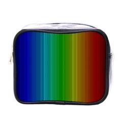 Spectrum Colours Colors Rainbow Mini Toiletries Bags
