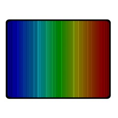 Spectrum Colours Colors Rainbow Fleece Blanket (small)