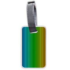 Spectrum Colours Colors Rainbow Luggage Tags (Two Sides)