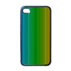 Spectrum Colours Colors Rainbow Apple iPhone 4 Case (Black)