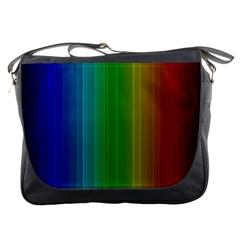 Spectrum Colours Colors Rainbow Messenger Bags