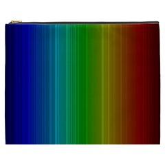 Spectrum Colours Colors Rainbow Cosmetic Bag (xxxl)