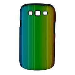 Spectrum Colours Colors Rainbow Samsung Galaxy S III Classic Hardshell Case (PC+Silicone)