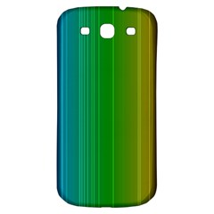 Spectrum Colours Colors Rainbow Samsung Galaxy S3 S Iii Classic Hardshell Back Case