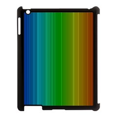 Spectrum Colours Colors Rainbow Apple iPad 3/4 Case (Black)