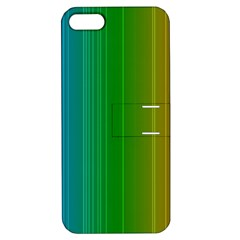 Spectrum Colours Colors Rainbow Apple iPhone 5 Hardshell Case with Stand