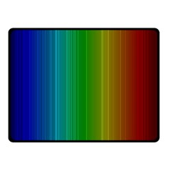 Spectrum Colours Colors Rainbow Double Sided Fleece Blanket (small)
