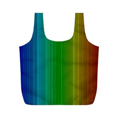 Spectrum Colours Colors Rainbow Full Print Recycle Bags (m)