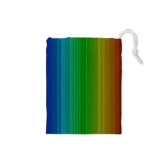 Spectrum Colours Colors Rainbow Drawstring Pouches (Small)