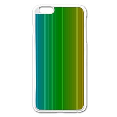 Spectrum Colours Colors Rainbow Apple Iphone 6 Plus/6s Plus Enamel White Case