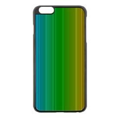 Spectrum Colours Colors Rainbow Apple Iphone 6 Plus/6s Plus Black Enamel Case