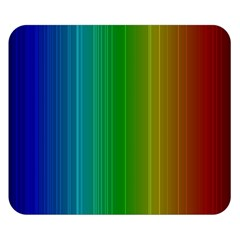 Spectrum Colours Colors Rainbow Double Sided Flano Blanket (small)