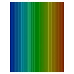 Spectrum Colours Colors Rainbow Drawstring Bag (large)