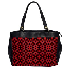 Abstract Background Red Black Office Handbags