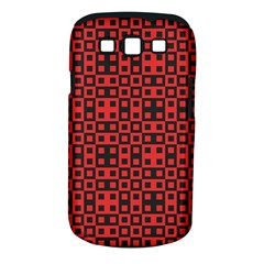 Abstract Background Red Black Samsung Galaxy S Iii Classic Hardshell Case (pc+silicone)