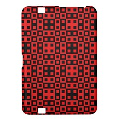 Abstract Background Red Black Kindle Fire Hd 8 9