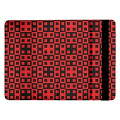 Abstract Background Red Black Samsung Galaxy Tab Pro 12 2  Flip Case