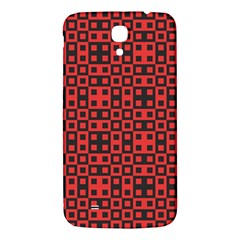 Abstract Background Red Black Samsung Galaxy Mega I9200 Hardshell Back Case