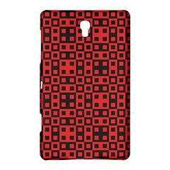 Abstract Background Red Black Samsung Galaxy Tab S (8.4 ) Hardshell Case