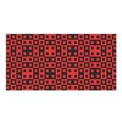 Abstract Background Red Black Satin Shawl