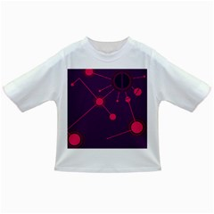 Abstract Lines Radiate Planets Web Infant/toddler T Shirts