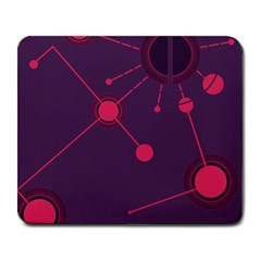 Abstract Lines Radiate Planets Web Large Mousepads