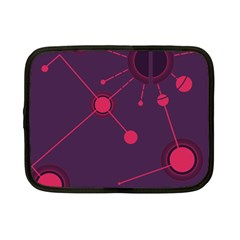 Abstract Lines Radiate Planets Web Netbook Case (small)
