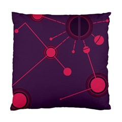 Abstract Lines Radiate Planets Web Standard Cushion Case (one Side)