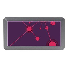 Abstract Lines Radiate Planets Web Memory Card Reader (Mini)