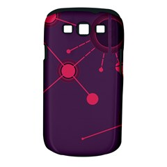 Abstract Lines Radiate Planets Web Samsung Galaxy S Iii Classic Hardshell Case (pc+silicone)