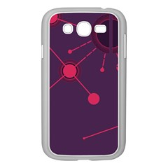 Abstract Lines Radiate Planets Web Samsung Galaxy Grand Duos I9082 Case (white)