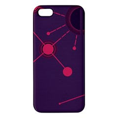 Abstract Lines Radiate Planets Web Iphone 5s/ Se Premium Hardshell Case