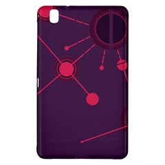 Abstract Lines Radiate Planets Web Samsung Galaxy Tab Pro 8 4 Hardshell Case