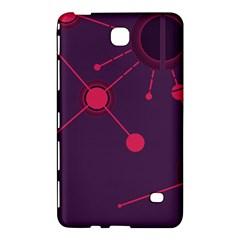 Abstract Lines Radiate Planets Web Samsung Galaxy Tab 4 (8 ) Hardshell Case