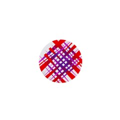 Chaos Bright Gradient Red Blue 1  Mini Buttons