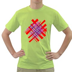 Chaos Bright Gradient Red Blue Green T-Shirt