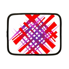 Chaos Bright Gradient Red Blue Netbook Case (Small)