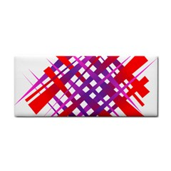 Chaos Bright Gradient Red Blue Cosmetic Storage Cases