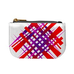 Chaos Bright Gradient Red Blue Mini Coin Purses
