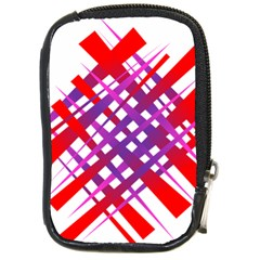 Chaos Bright Gradient Red Blue Compact Camera Cases