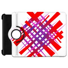 Chaos Bright Gradient Red Blue Kindle Fire Hd 7