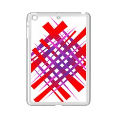 Chaos Bright Gradient Red Blue iPad Mini 2 Enamel Coated Cases