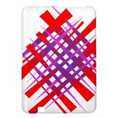 Chaos Bright Gradient Red Blue Kindle Fire Hd 8 9