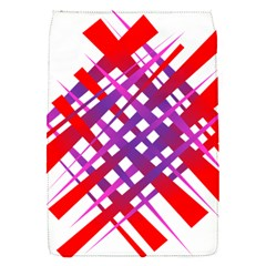 Chaos Bright Gradient Red Blue Flap Covers (s)