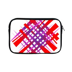 Chaos Bright Gradient Red Blue Apple iPad Mini Zipper Cases