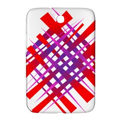 Chaos Bright Gradient Red Blue Samsung Galaxy Note 8.0 N5100 Hardshell Case